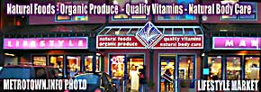 Health-Organic Food & Complimentary Alternative Medicine CAM / Nutritional Supplement Store - CLICK FOR PHOTO ENLARGEMENT