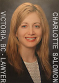 Charlotte Salomon, experienced real estate / property  law yer  with downtown law firm of McConnan Bion O'Conner Peterson
